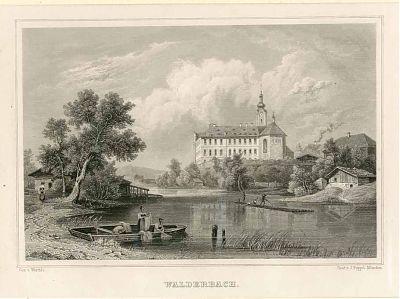 Walderbach - Stahlstich, 1846