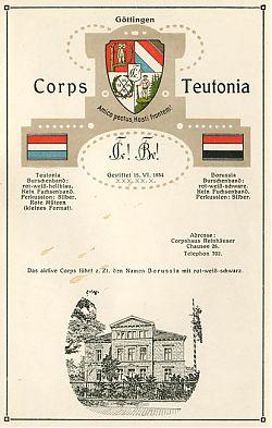 Göttingen : Corpshaus Reinhäuser Chausee 26
