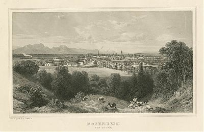 Rosenheim - Stahlstich