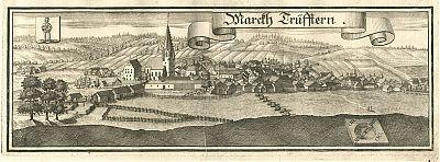 Triftern : Kupferstich von Michael Wening, 1723