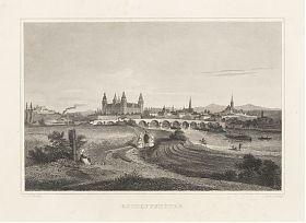 Aschaffenburg - Stahlstich - Poppel : Antiquariat Steutzger