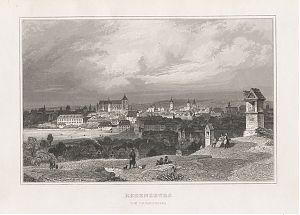 Regensburg : Stahlstich, aus: Chlingensberg, Königreich Bayern, um 1850