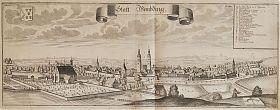 WEMDING. - Kupferstich von Michael Wening, 2. Auflage, gedruckt ca. 1750 // Antiquariat Joseph Steutzger // Ankauf alte Graphik/Stiche