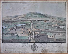 Ulm/Napoleon, Kupferstich, 1805 - Graphik-Antiquariat Steutzger