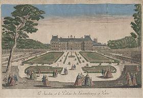 Jardin Palais du Luxembourg/Paris - Guckkasten - Antiquariat Steutzger