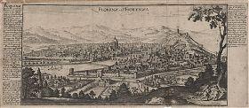 Florenz/Fiorenza: Kupferstich, Bodenehr, ca. 1720 / Antiquariat Joseph Steutzger