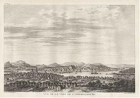 Jekatarinburg: Kupferstich, Lespinasse, 1783 - Antiquariat Steutzger