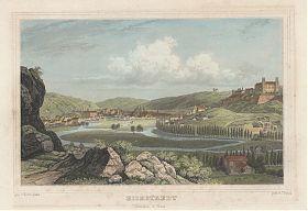 Eichstätt: Stahlstich, Heinrich Adam/Johann Poppel, um 1845 - Antiquariat Steutzger