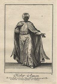 Türkei/Osmanisches Reich: Kislar-Agassi - Kupferstich, Weigel, 1723 - Antiquariat Joseph Steutzger