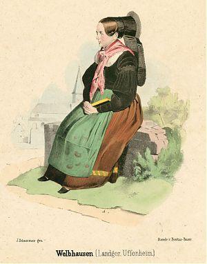 Welbhausen (Landgericht Uffenheim) : Weibliche Tracht
