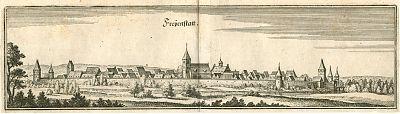 Freystatt : Merian, Kupferstich